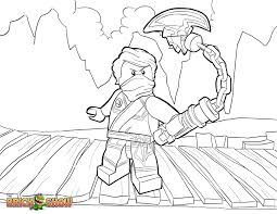 LEGO Ninjago Coloring Page Lloyd Tournament Of In Pages