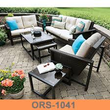 Broyhill Outdoor Patio Furniture by Sector Shape Patio Wicker Semi Circle Sectional Broyhill Outdoor