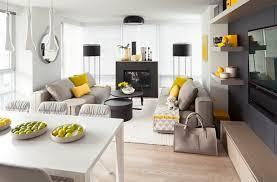 grau und gelb im wohnzimmer ein hauch sommer