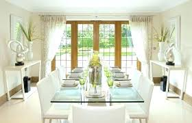 Fixer Upper Window Treatments Curtain Ideas For Dining Room Used On Curtains Bay Decorating