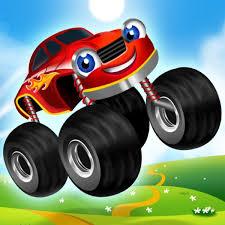 100 Kids Monster Trucks Game For 2 V261 Mod Apk Mod Games