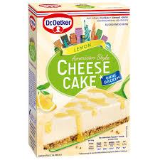 cheesecake american style lemon