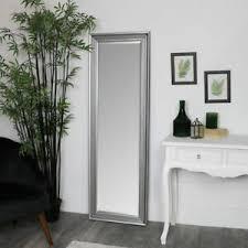details zu hoch silber voll länge spiegel vintage badezimmer schlafzimmer metallic glamurös