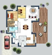 villa de luxe moderne plan tristao