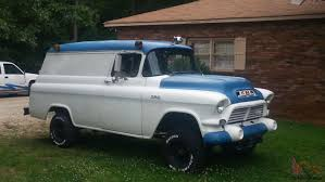 1957 GMC NAPCO Civil Defense Panel Truck - SUPER RARE