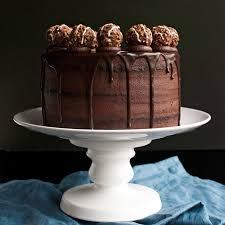 Triple Dark Chocolate Cake