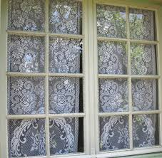 Battenburg Lace Curtains Ecru by Lace Curtain For Glass Door Decorate The House With Beautiful
