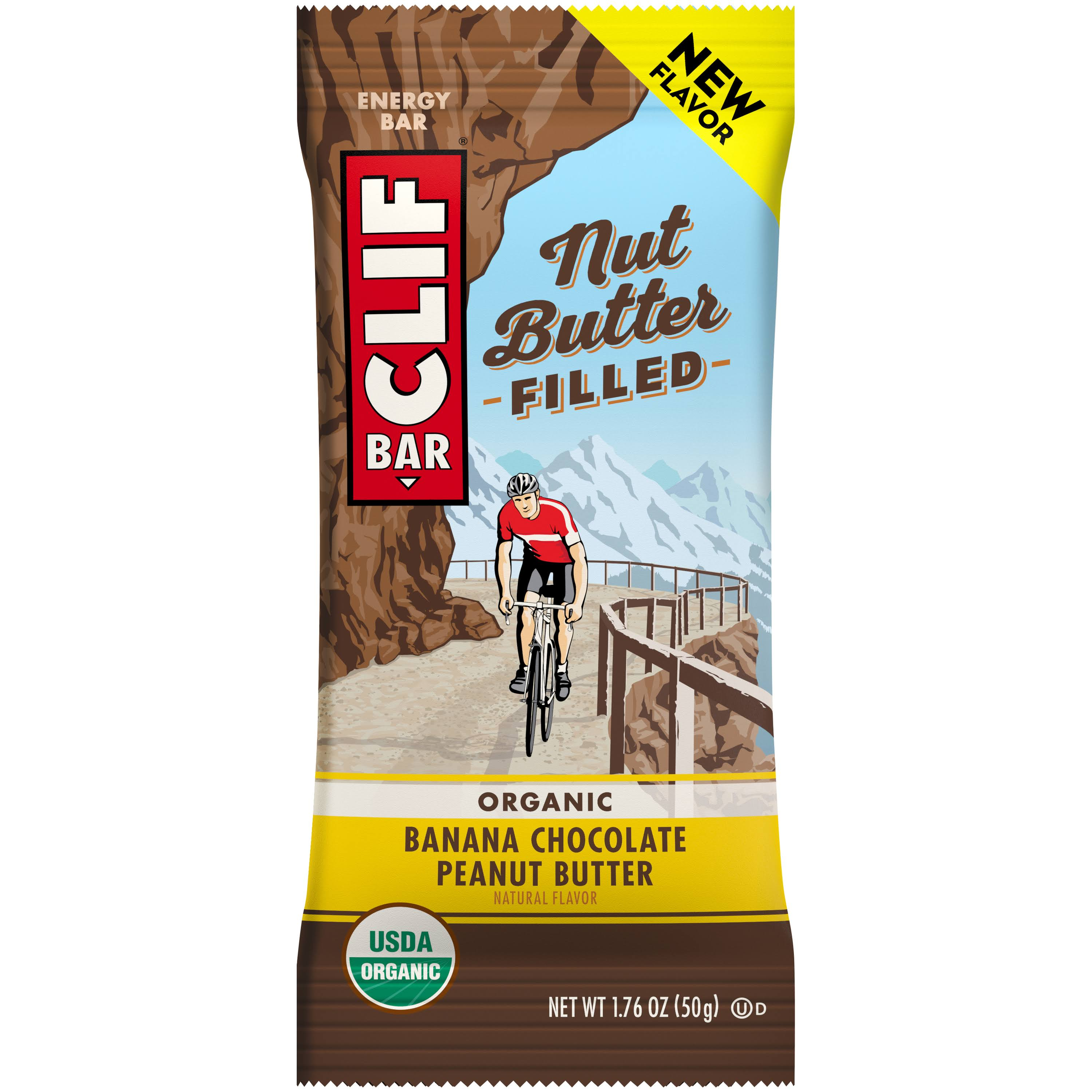Clif Organic Banana Chocolate Peanut Butter Energy Bar - 1.76oz