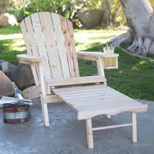 100 Retractable Patio Chairs Natural Unfinished Fir Wood Adirondack Chair With