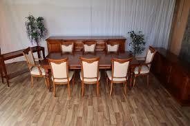 nr 1532 esszimmer sideboard sideboard tisch 8 stühle kredenz kirsche vollmassiv