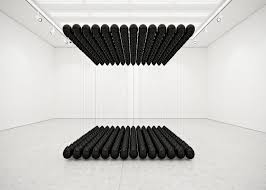Floating Vs Sinking Stool by Dark Lightness Floating Black Balloon Installations By Tadao Cern