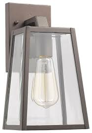 leodegrance 1 light outdoor wall sconce 11 high contemporary with
