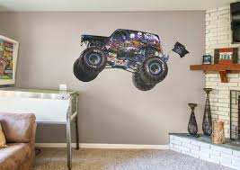 100 Monster Truck Bedroom Jam Cartoon S Collection XLarge Officially Licensed
