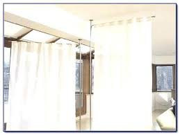Panel Curtain Room Divider Ideas by Fabric Room Dividers Ideas Panel Curtain Room Divider Ideas