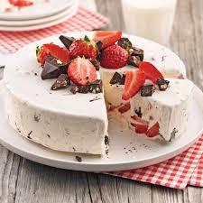gâteau glacé aux fraises et chocolat desserts recettes 5 15