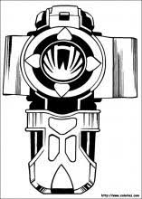 Power Rangers Coloring Pages On Book