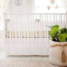 white crib bedding gold nursery baby bedding