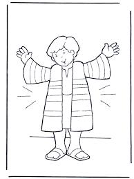 Josephs Coat Coloring Sheet