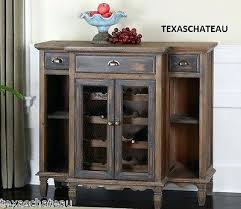 Sideboard Storage Cabinet Rustic Wood French Country Style Furniture Wine By Wholesale Interiors