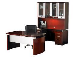 Jesper Office Executive Desk by Dark Wood Desk Wood Office Desk Desk Furniture