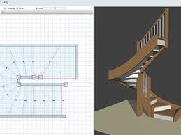 wood designer stair and furniture design software