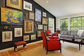 Wall Living Room Decorating Ideas Of Exemplary Decorated Walls Rooms Decoration Info Images Style
