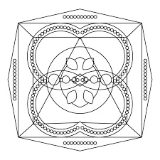 Download Relaxing Coloring Page With Mandala For Kids And Adults Art Therapy Meditation
