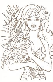 Barbie Coloring Picture Gallery For Website Barbie Color Book At