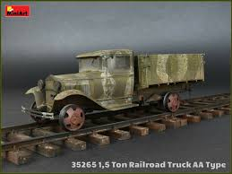100 Railroad Truck MiniArt 135 1 5 Ton AA Type 35265 EBay