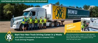 100 Free Trucking Schools CDL NMU Truck Driving School NMU Continuing Education And