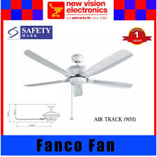Ceiling Fan Balancing Kit Singapore by Fanco Air Track 56