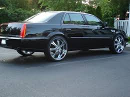 Cadillac DTS Rims Re 24 inch rims on 2008 DTS