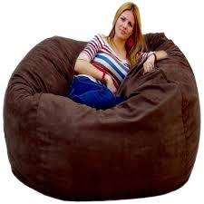 King Fuf Bean Bag Chair amazon com cozy sack 5 feet bean bag chair large chocolate