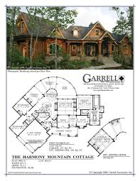 Harmonious Mountain Style House Plans by Harmony Ranch Rustic Floor Plan Mountain House Luxihome