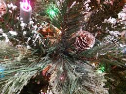 Snowy Dunhill Christmas Trees by Christmas Tree 7 5 U2032 Sparkling Snowy Pine Pre Lit Multi Color