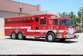 Pierce Arrow XT USAR Los Angeles Fire Department Emergency Apparatus ...