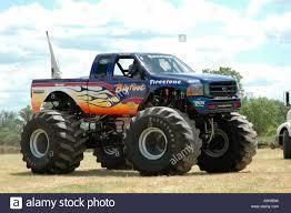 100 Bigfoot Monster Truck History 2 Inwood Ontario Canada Stock Photo