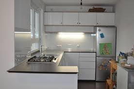 küche mit multiplex fronten