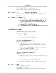 Government Job Resume Format Jobs Samples Template Examples For It