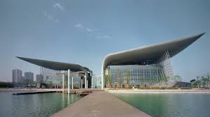 100 Architects Wings Wuxi Grand Theatre By PES News Frameweb