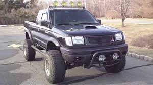100 1998 Nissan Truck Frontier LIFTED 65s 4x4 5speed Manual FOR SALE YouTube