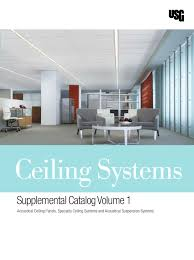 Usg Ceiling Tiles 2x2 by Ceiling Systems Supplemental Catalog Volume 1 Usg By Macopa Issuu