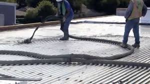 lightweight concrete for roof insulation