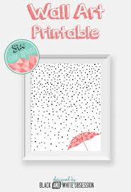 Free Printable Black And White Rain Snow Wall Art All Things Thrifty Contributor Trisha D From Obsession