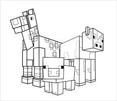 Coloring Pages Minecraft Stampylongnose Free Printable Word Template