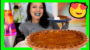 Mcdonalds Pumpkin Pie Recipe by Delicious No Bake Pumpkin Pie Recipe U0026 Mukbang Vegan Youtube