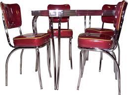 Vintage Metal Kitchen Chairs Retro Tables Chrome Home Design Ideas Funky Decoration