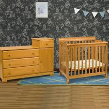 da vinci 2 piece nursery set kalani mini crib and combo changer