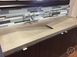 single drain double faucet trough sink customcretewerks inc