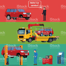 Tow Truck Transporting A Broken Machine To The Car Service Stock ... Auto Car Transportation Services Tow Truck With Crane Mono Line Grand Island Ny Towing Good Guys Automotive City Road Assistance Service Evacuator Delivers Man And Stock Vector Illustration Of Mirror Flat Bed Loading Broken Stock Photo Royalty Free Bobs Garage Flatbed Isometric Decorative Icons Set Workshop Illustrations 1432 Icon Transport And Vehicle Sign Vector Clipart 92054 By Patrimonio